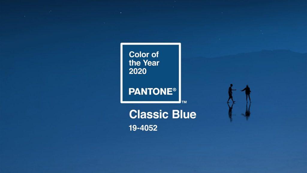CLASICC BLUE, color del año 2020