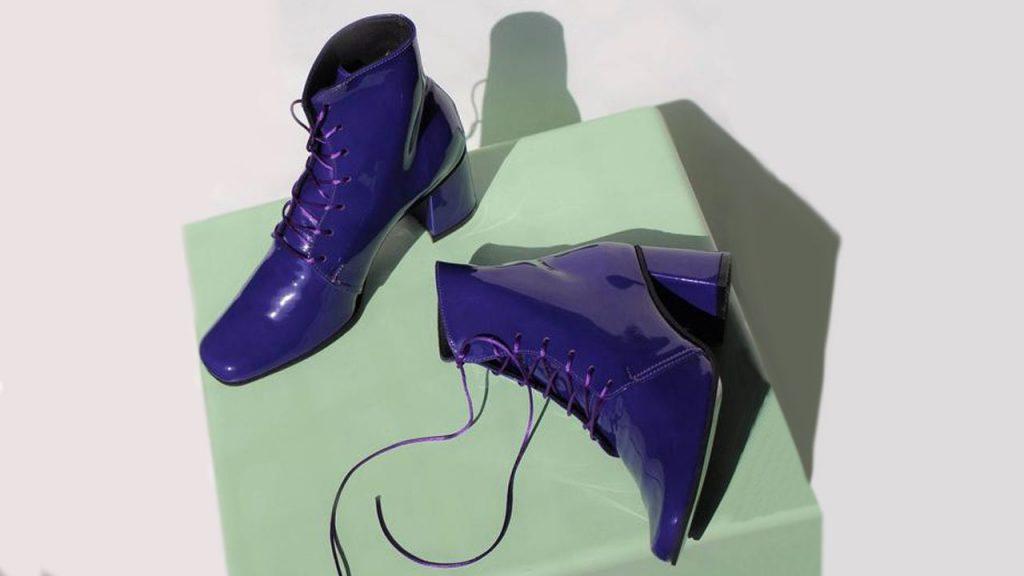 Tendencia de color para calzado de mujer